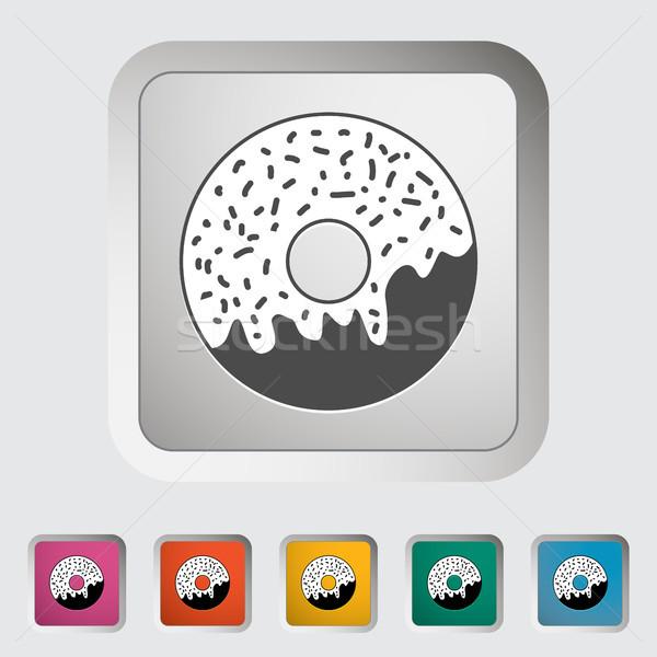 Stock photo: Donut icon