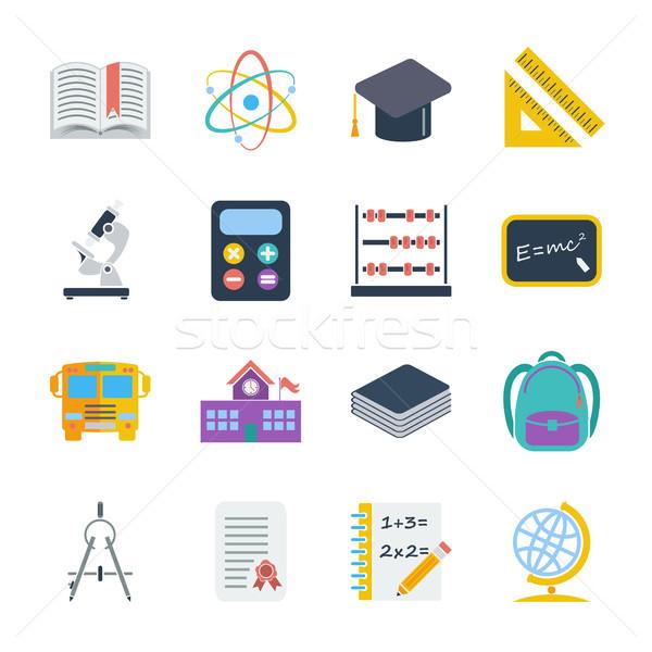 教育 アイコン ベクトル ウェブ 携帯 ストックフォト © smoki