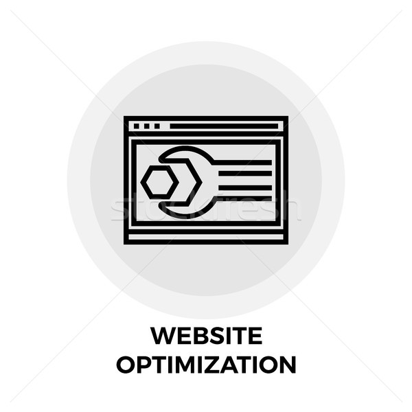Website Optimization Line Icon Stock photo © smoki