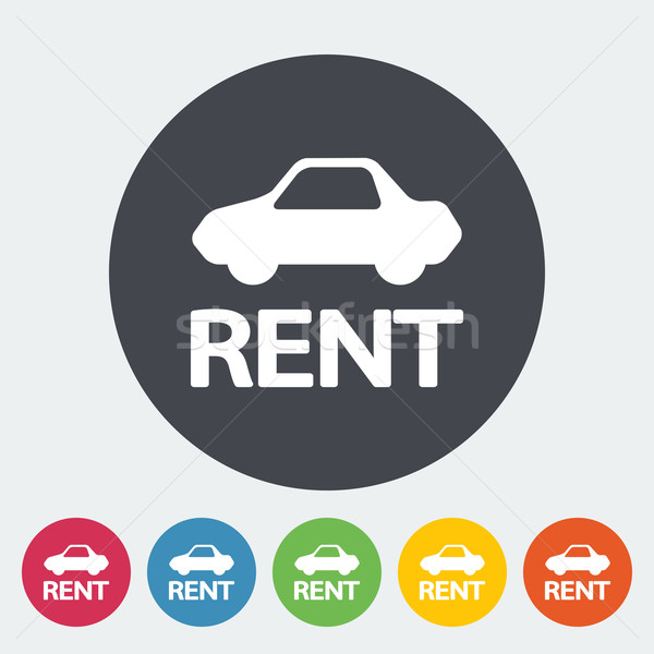 Car for rent Stock photo © smoki