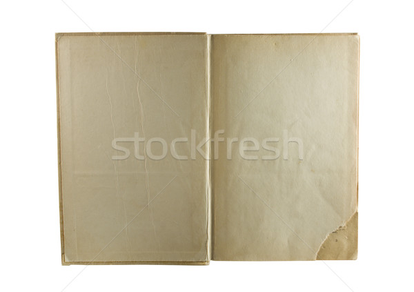 Stock photo: old book