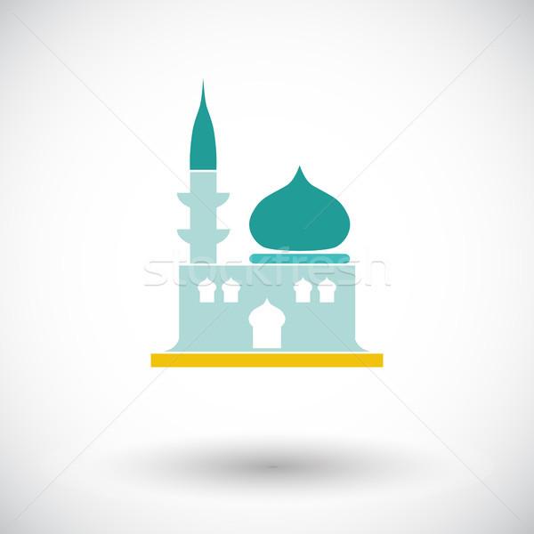 мечети икона белый здании искусства путешествия Сток-фото © smoki