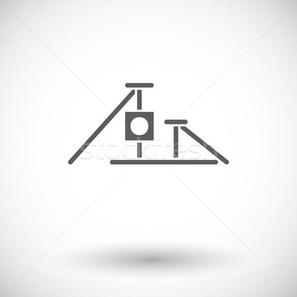 ストックフォト: ポスト · アイコン · ベクトル · ウェブ · 携帯 · アプリケーション