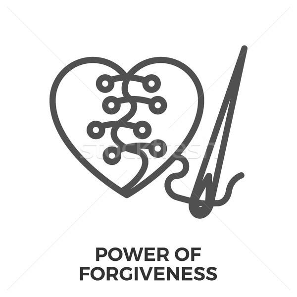 Power of forgiveness Stock photo © smoki