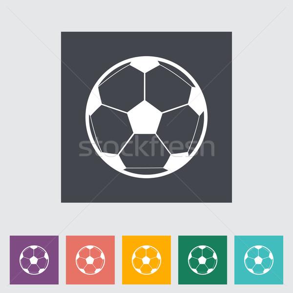 Futbol Topu Futbol Uygunluk Futbol Top Boyama Vektör