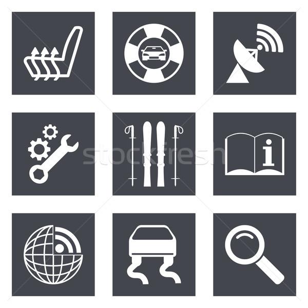 Icons for Web Design set 39 Stock photo © smoki
