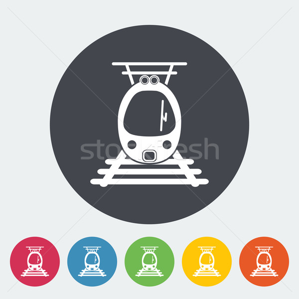 Suburban electric train. Stock photo © smoki
