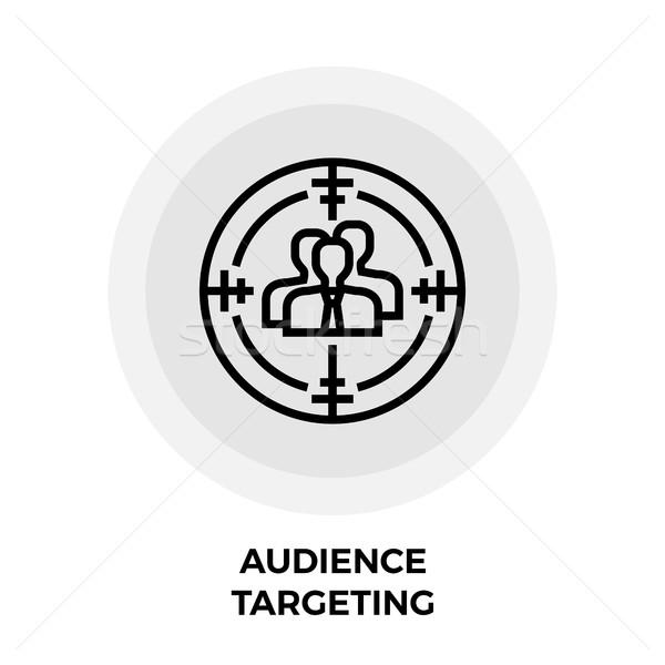 Audience Targeting Icon Stock photo © smoki