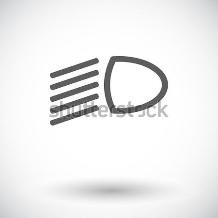 Headlight icon. Stock photo © smoki