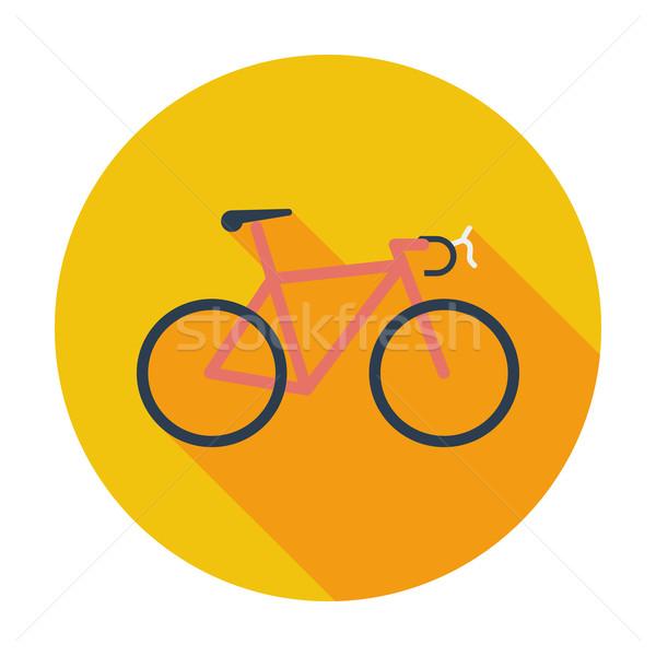 Bicycle icon. Stock photo © smoki