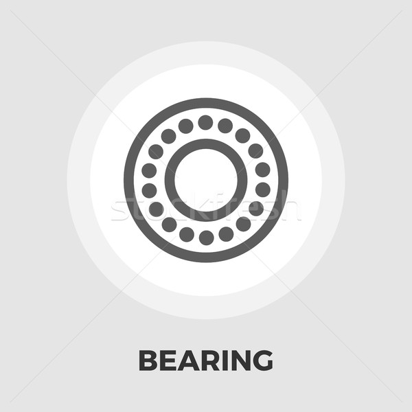 Bearing flat icon Stock photo © smoki