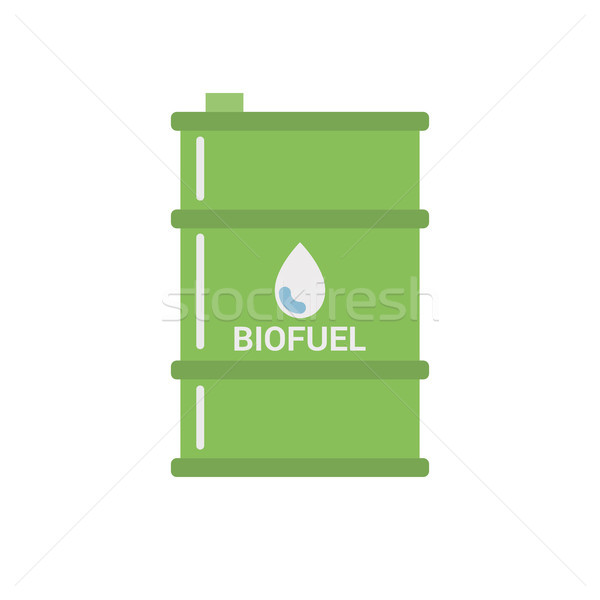 Biofuel Barrel Vecto Icon Stock photo © smoki
