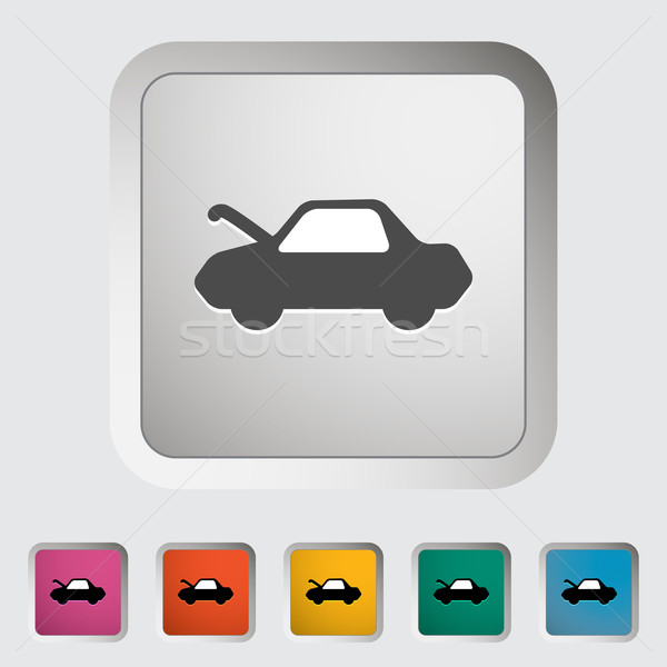 Car hood release Stock photo © smoki