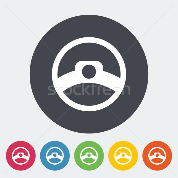 Steering wheel Stock photo © smoki