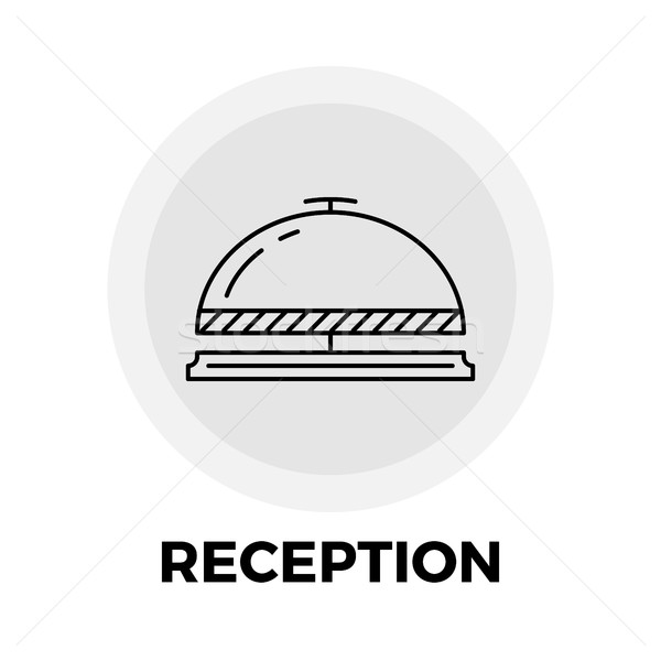 Reception Line Icon Stock photo © smoki