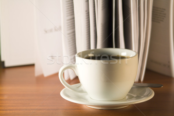 Coffee and book  Stock photo © smoki