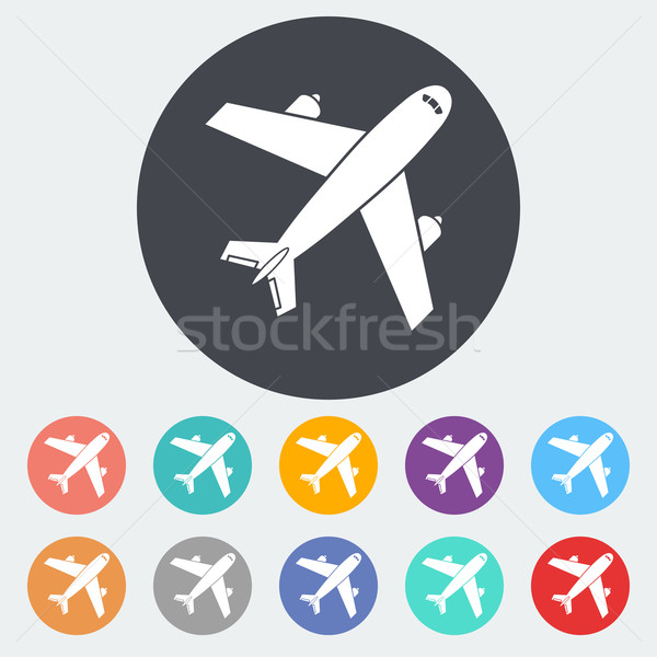 Airport icon. Stock photo © smoki