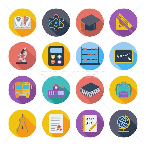 Education icon Stock photo © smoki