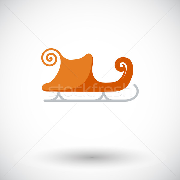 Slee icon vector web mobiele Stockfoto © smoki