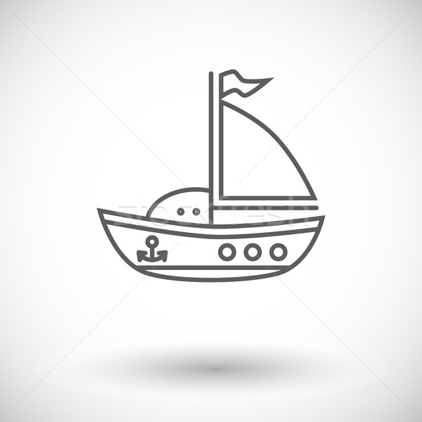 Ship toy Stock photo © smoki