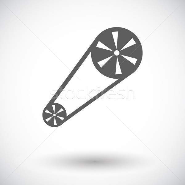Timing belt flat icon. Stock photo © smoki