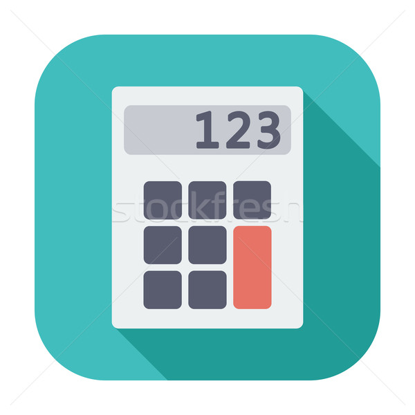 電卓 アイコン 色 デザイン 技術 キーボード ストックフォト © smoki