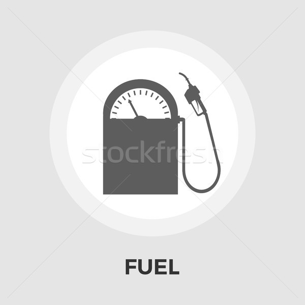 Fuel vector flat icon Stock photo © smoki