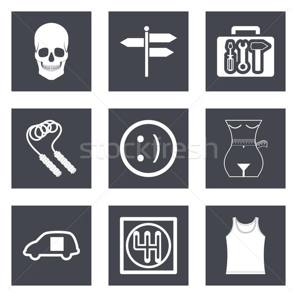 Icons for Web Design set 28 Stock photo © smoki