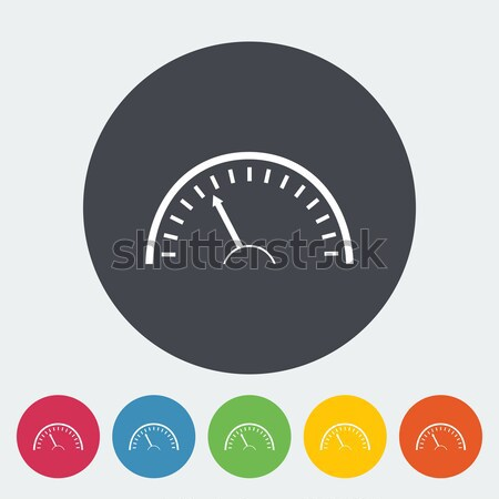 Speedometer icon. Stock photo © smoki
