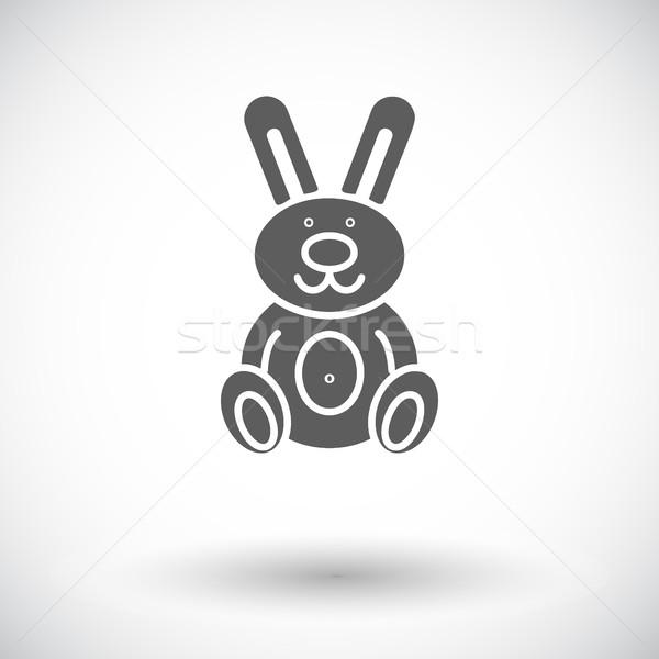 Rabbit toy Stock photo © smoki