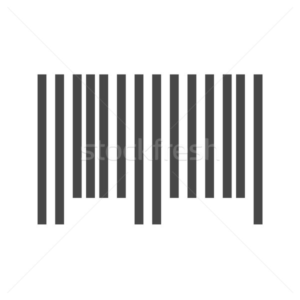 Bar Code Vector Icon Stock photo © smoki