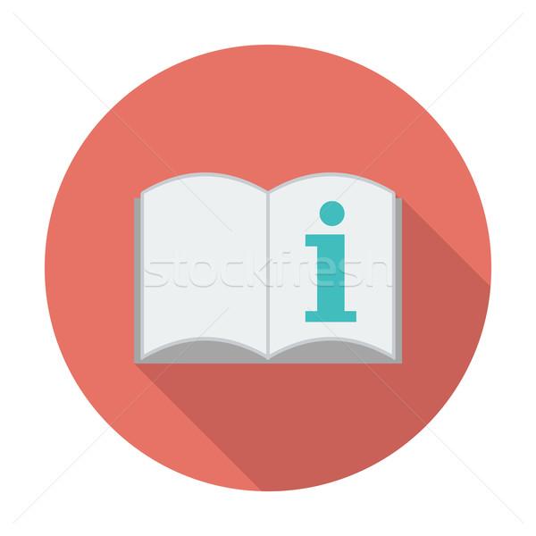 Sehen Eigentümer Handbuch Farbe Symbol Computer Stock foto © smoki