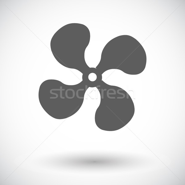 Fan single icon. Stock photo © smoki
