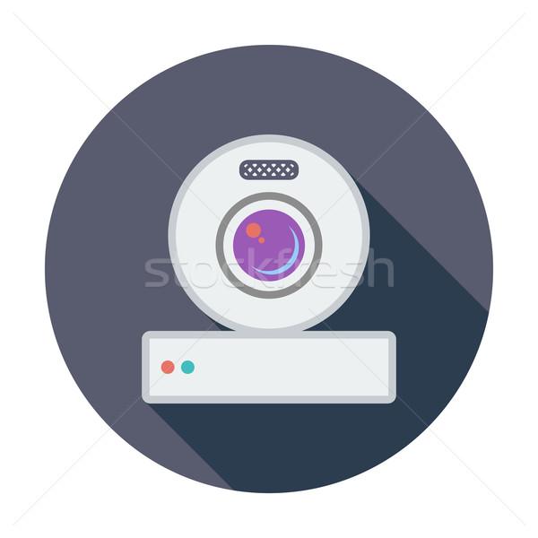 ウェブカメラ アイコン 色 ビジネス 技術 会議 ストックフォト © smoki