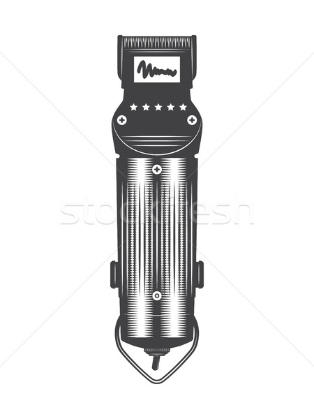 Hair clipper vintage Stock photo © smoki