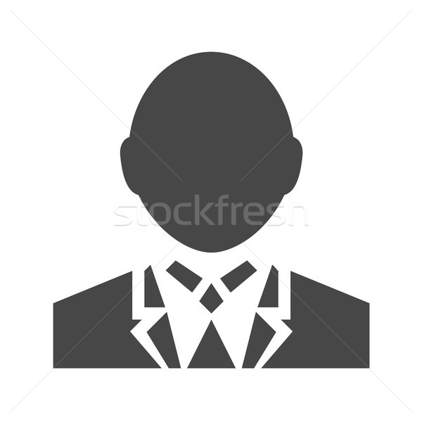 User Sign Flat Vector Icon Stock photo © smoki