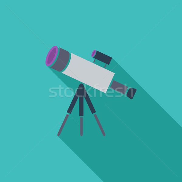 Stock photo: Telescope