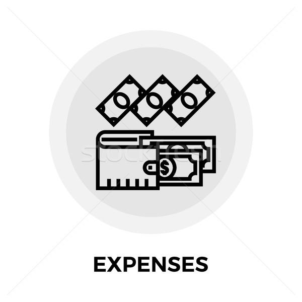 Expenses Line Icon Stock photo © smoki