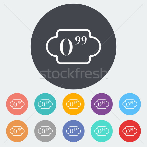 Pricelist Stock photo © smoki