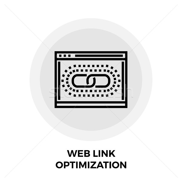 Web Link Optimization Line Icon Stock photo © smoki