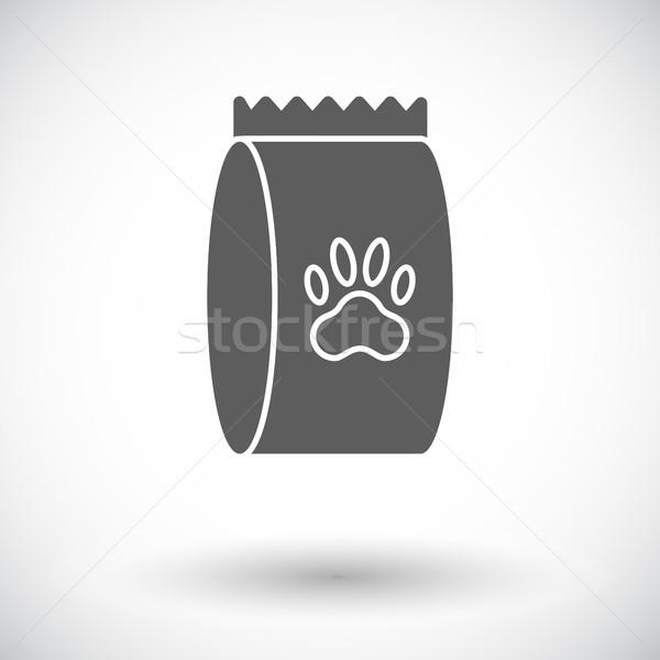 Pet alimentare bag icona vettore web Foto d'archivio © smoki
