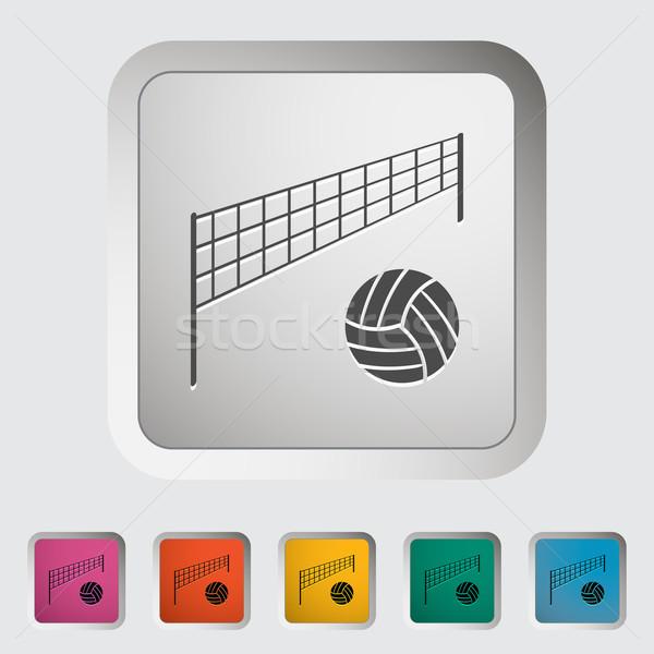 Voleibol praia escolas projeto fitness viajar Foto stock © smoki
