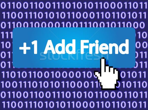 Add Friend +1 Stock photo © smoki