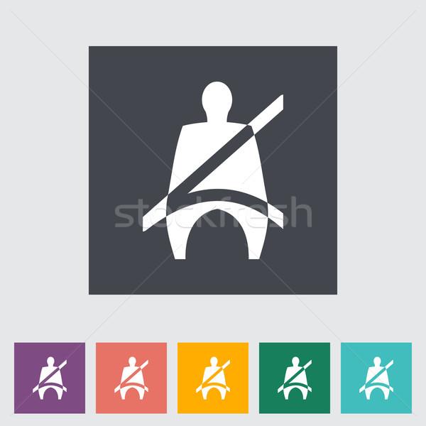 座席 ベルト にログイン 自動 ドライバ ベクトル ストックフォト © smoki