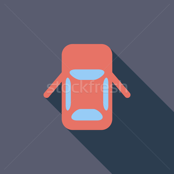 Car icon Stock photo © smoki