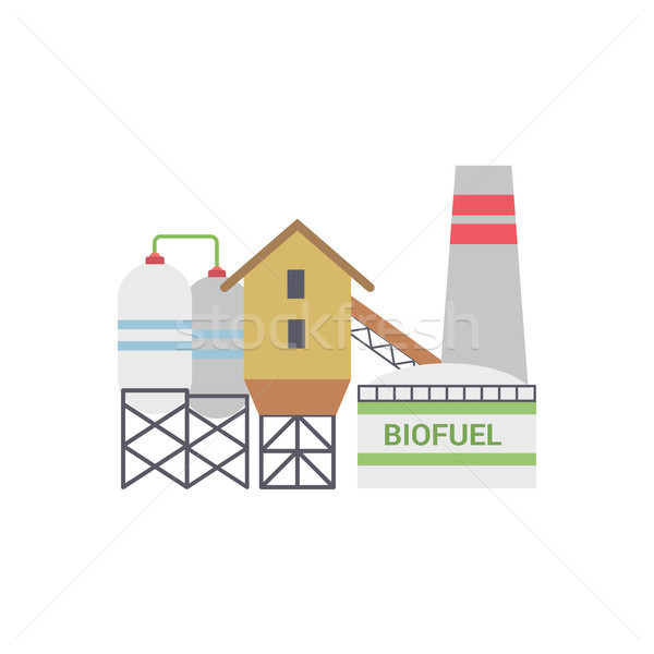 Bio Fuel Energy Factory Stock photo © smoki
