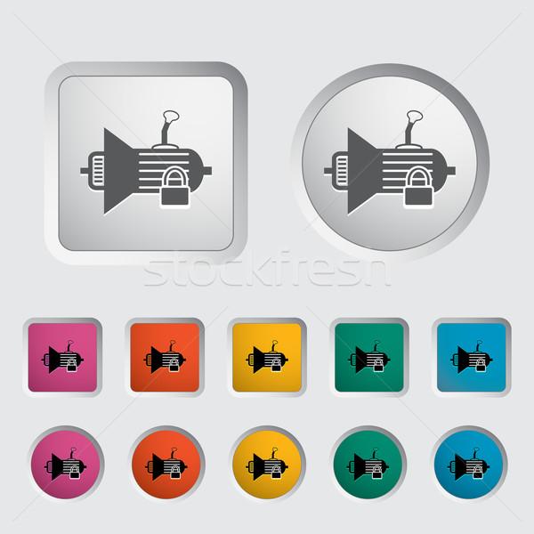 Ikon viselet eps sebesség szolgáltatás szerszám Stock fotó © smoki