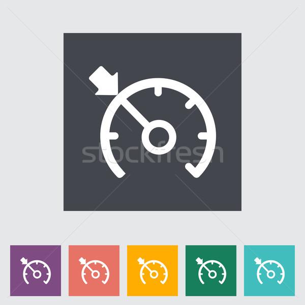 Seyir kontrol siyah makine tekerlek taşıma Stok fotoğraf © smoki