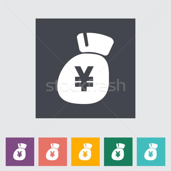 Yen icon. Stock photo © smoki