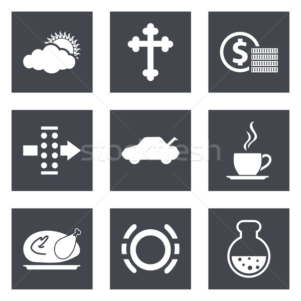 Icons for Web Design set 31 Stock photo © smoki